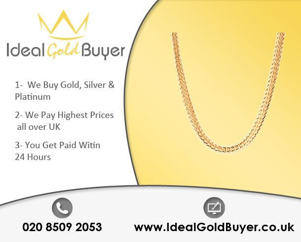 Sell Gold Chains For Cash Online