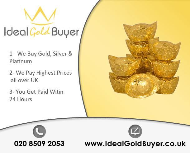 Sell Gold Ingots For Cash Online