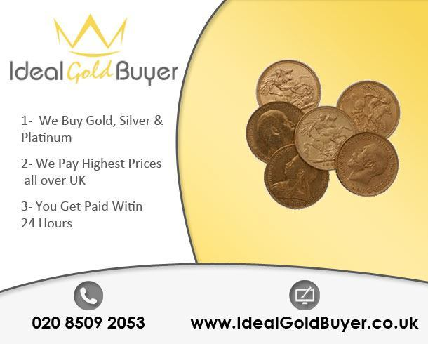 Sell Gold Sovereigns For Cash Online