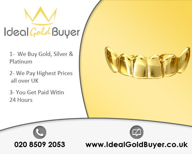 Sell Gold Teeth For Cash Online
