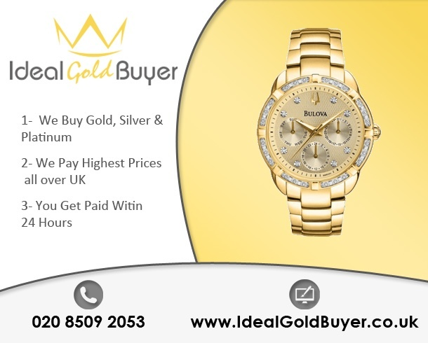 Sell Gold Watches For Cash Online
