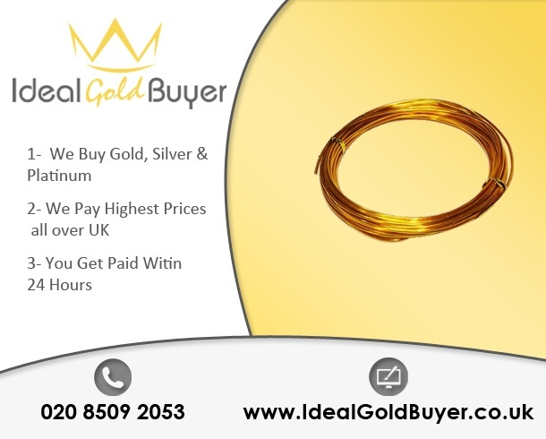 Sell Gold Wires For Cash Online