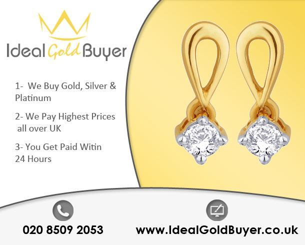 Sell Gold Earrings For Cash Online