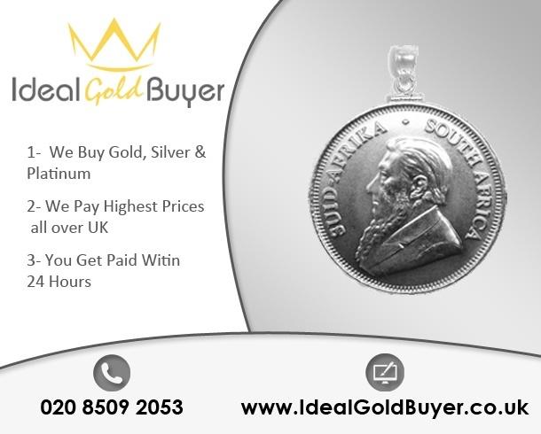 Sell Platinum Krugerrands  For Cash Online