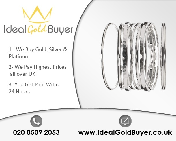 Prices of Silver Bangles